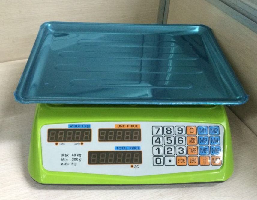 <strong>Digital Scale Electronic Price Computing Weight Shop ACS-817</strong>